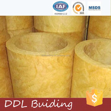 Isulation materials glasswool pipe cover