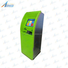 Utility Bill Payment Ticket Vending Kiosk With Card Reader ,QR Scanner,Cash Payment