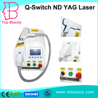 portable q switched laser genesis nd yag 1064 nm tattoo removal treatment equipment