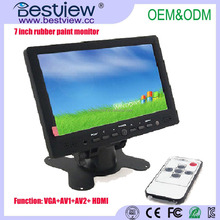 Cheap 7 inch HDMI Lcd monitor with touch screen