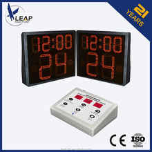 One side shot clock /LED display /led digital clock red display