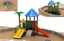 Europe suitable multi function wide area jungle gym plastic playground toys