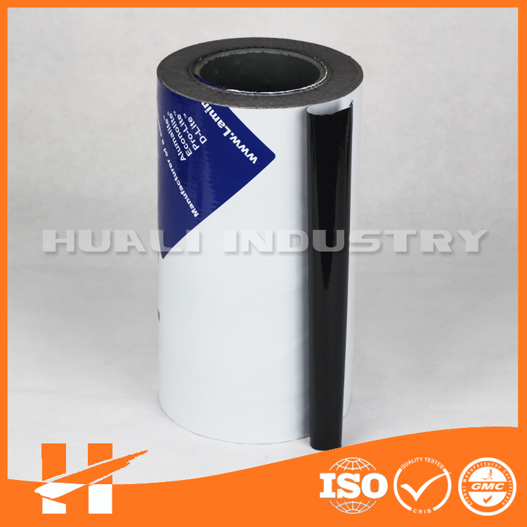 Black & white LDPE protective film for ACP