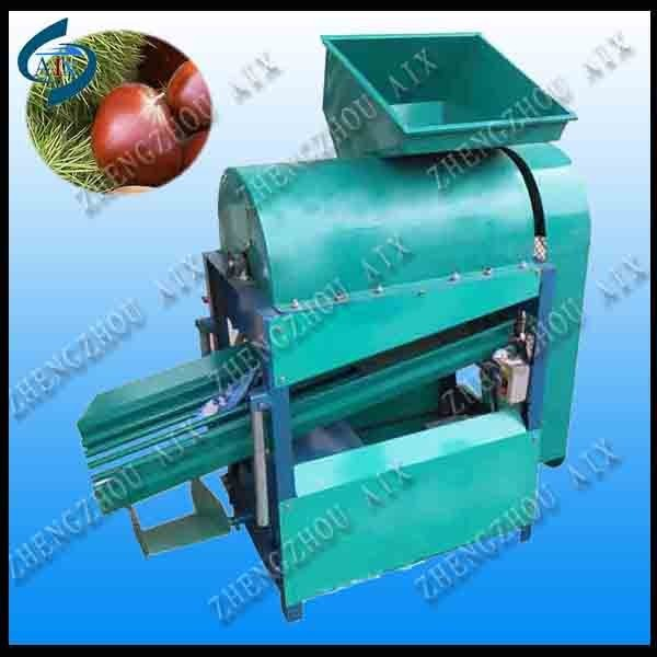 Remove the stab of chestnut wholesale chestnut huller/chestnut shelling machine