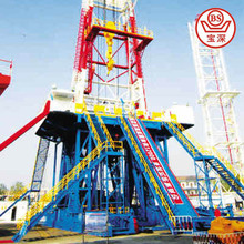 best oil drilling machine/core drilling tower rig machine for well/oil