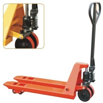 Loading Manual Hydraulic Forklift and Lifting Equipments For Workshops