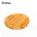 Universal Qi Wireless Charging bamboo For Samsung S7 s6