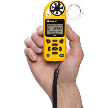 Kestrel 5500 handheld air meter
