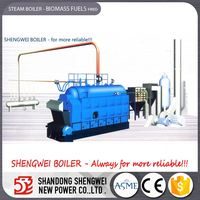 China Chiller Heat Converted To Biomass Steam Boiler Factory