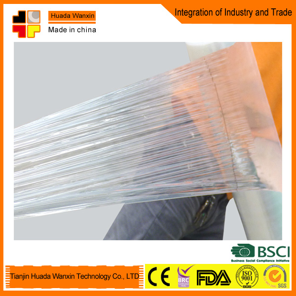 LDPE/HDPE/PET composite packing film/stretch film