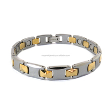 High quality sport energy bio germanium tungsten magnetic bracelet