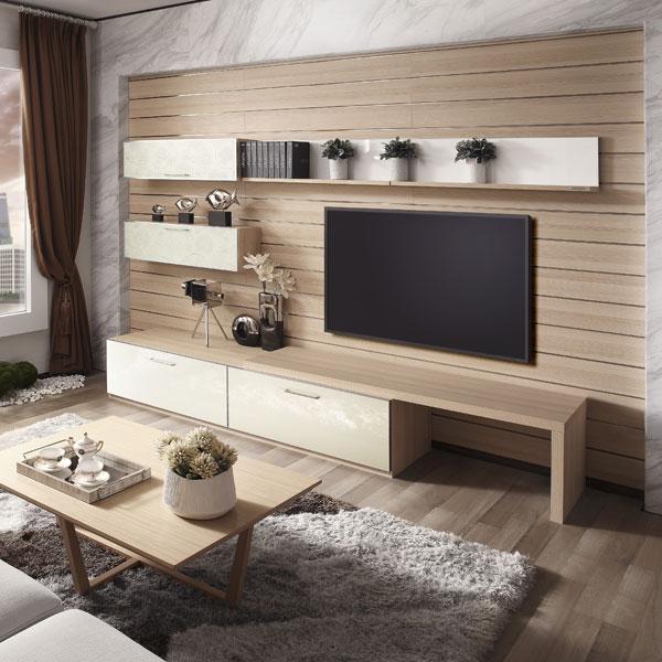 Tv Woonkamer: moderne tv hal kast woonkamer meubels ontwerpen houten ...