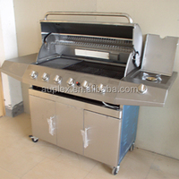 Commercial BBQ Gas Grill Machine
