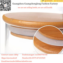 Premium Quality bamboo lid for candle Jar,100% pure natural high quality bamboo,creative style Good sealing candle cover