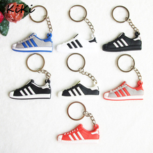 >>>Bag Charm Accessories PVC Pendant Silicone Jordan Shoes Superstars Keychain Sneaker Car Key Chain