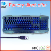wired usb backlit glow in the dark keyboard for laptop