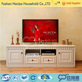Simple design of exotic bedroom furniture solid wood american oak tv cabibet