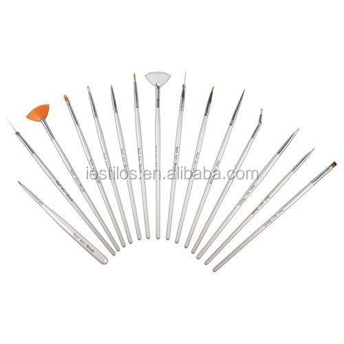 Factory make kolinsky acrylic nail art brush