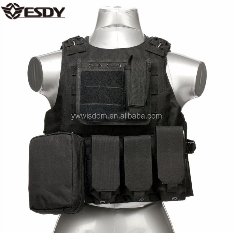 ESDY 8 Color Safe Bullet Proof Shooting Combat Army Tactical Vest