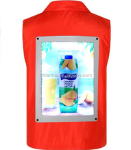 STNANHAI J10-041 Custom light up t shirt/activated led t shirt/el flashing t shirt for advertising