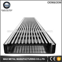 Stainless steel kitchen floor drain cover, linear drain wedge wire grate water floor drain