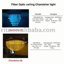 Fiber Optic ceiling Chandelier light;25 26