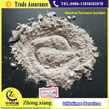 Alkaline neutral acidic silica sand ramming mass for induction furnace