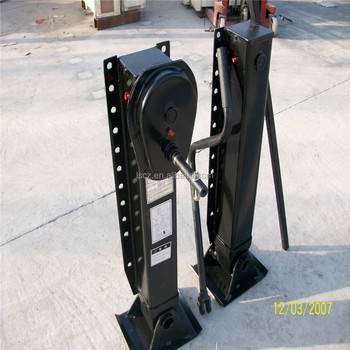 china truck trailer parts landing leg with ISO