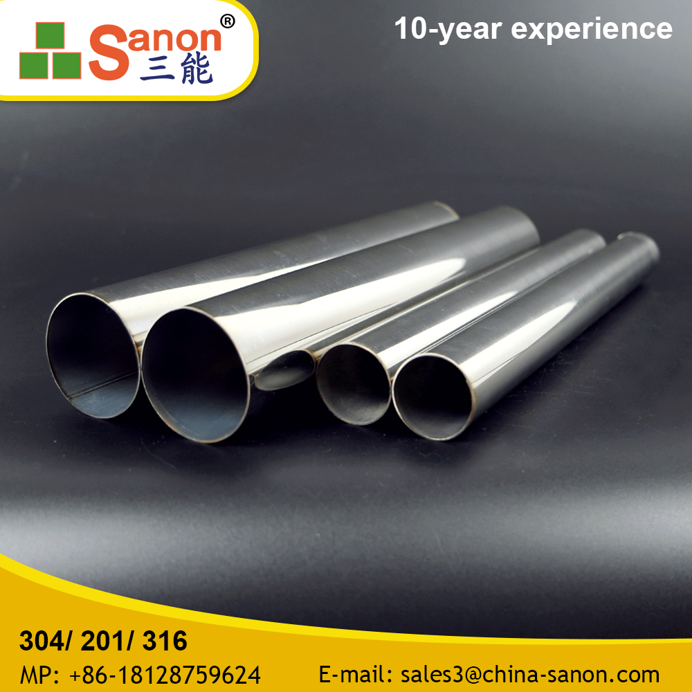 201 / 202 / 304 / 316 / 316 2mm Thickness Small Diameter Stainless Steel Pipe