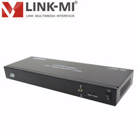hdmi splitter with rj45 output LM-SP20 High Definition 1080p 1 In 8 Out HDMI Video Audio Splitter