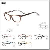 Fashion eyeglasses frames acetate eyewear wholesaler glasses
