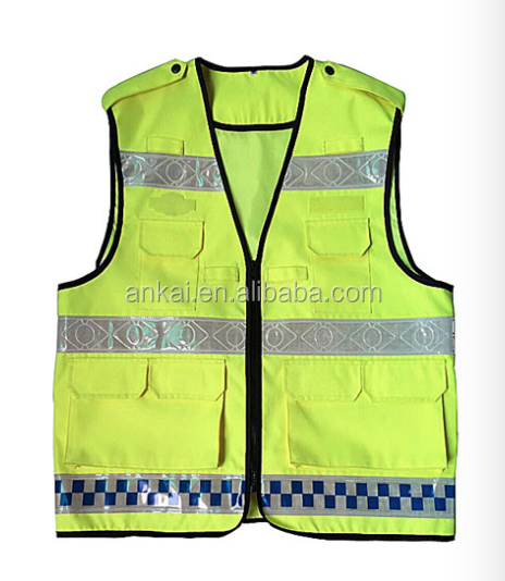 high visibility reflective mesh safety vests for Canada market