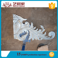 wholesale iron gate fence parts wrought metal ornaments for gates