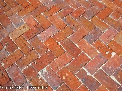 Brick Clay Old Chicago Brick Hand Made Rustic Paver