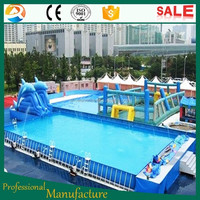 Wholesale Garden Adult Kids portable Inflatable Mobile Swimming Pool
