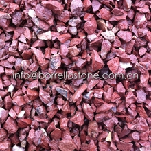 crushed red stone