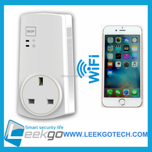 LEEKGO European Smart wifi energy saving socket outlet electric plug with timer