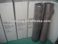 Non woven felt with PE coated floor protection sheet/waterproof