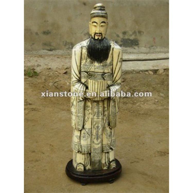 chinese bone carving figure