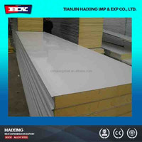 Good Quality Metal Pu Wall Sandwich Panel For Prefab Building