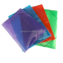China supply lower price file certificate holder high quality a4 fc size pvc clear small drawstring bag with elastic