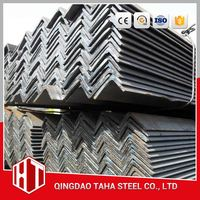 cold bended galvanized section steel/ gi angle mild steel bar 150x25x2.5mm