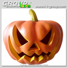 Fiberglass lighted Halloween pumpkins-pumpkin decoration