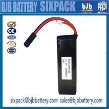 lipo battery 11.1V 2200mAh 20C RC helicopter li-ion battery with un38.3 certification