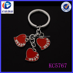 Metal Heart Online Doll Dress-Up Girl Games Keyring