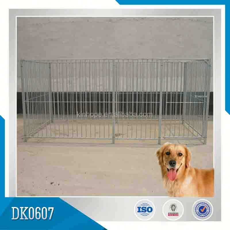 Decorative Chrome Dog House Cage