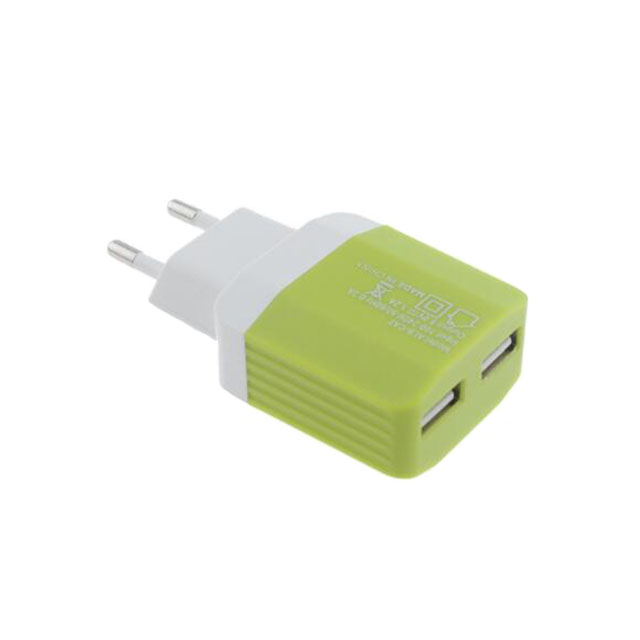 Custom 2 Ports USB Wall/Trave Chargers For Phone Charing