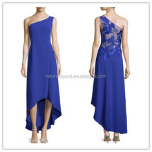 2015 The fashion simple style one shoulder gown from china alibaba evening dress online shopping AW037