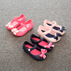 2017 latest design summer candy colorful bowknot girls mini sandal
