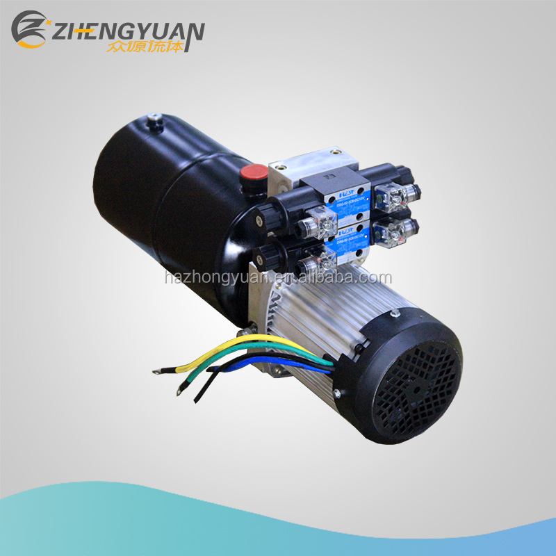 hot sale 48V hydraulic power unit for wingspan vehicle double acting power pack